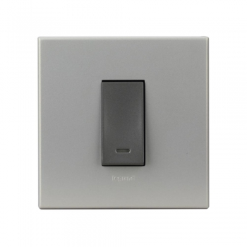 Magnesium Switch-6 A-SP-1 Way with Indicator-1 Module-1